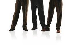 3 hommes d'affaires Photos stock