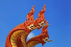 3 hoofden van het serpent Royalty-vrije Stock Foto
