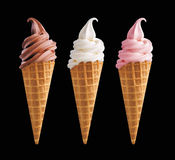 3 ice cream Stock Image