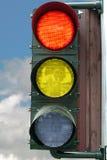 3 indicatori luminosi immagine stock libera da diritti