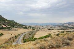 3 inlands- berg Royaltyfri Fotografi