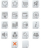 3 internetu ikon papiro zestaw Obraz Stock