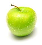 3 jabłko - zielony soczysty Zdjęcia Stock