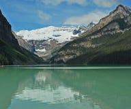 3 jezioro Alberta Canada Louise Zdjęcie Stock