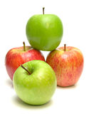 3 juicy ώριμος μήλων Στοκ Φωτογραφία