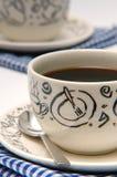 3 kaffekopp Fotografering för Bildbyråer