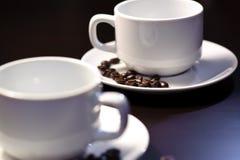 3 kaffekoppar Royaltyfria Bilder