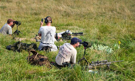 3-kanon Concurrentie van de Liefdadigheid Stock Foto's