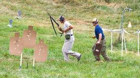 3-kanon Concurrentie van de Liefdadigheid Stock Foto