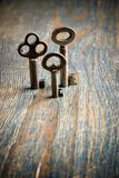 3 Keys Standing Stock Images