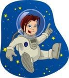 3 kid space Стоковые Изображения