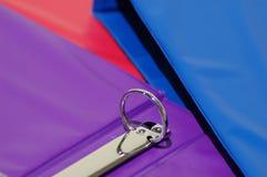 3 kleurrijke Bindmiddelen royalty-vrije stock afbeeldingen