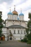 3 kloster novospassky moscow Royaltyfria Foton