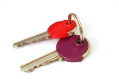 3 klucza Zdjęcia Stock