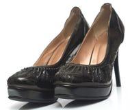 3 kobiecego buta Obraz Royalty Free
