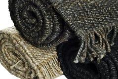 3 konopiany ostrosłupa rolek dywanik Obraz Stock