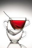 3 koppar tea Arkivbild
