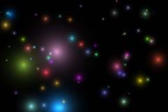 3 kosmos Royaltyfri Fotografi