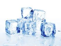 3 kostek lodu Obrazy Stock