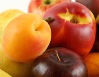 3 koszy owoców Obraz Royalty Free