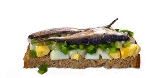 3 krajowa kanapka Zdjęcia Stock