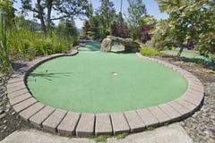 3 kursów golfowa miniatura Obrazy Royalty Free