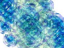 3 kwiat abstrakcyjne Zdjęcia Stock