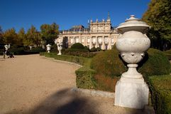 3 la Granja pałacu. Fotografia Royalty Free