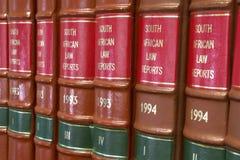 3 lagliga böcker Royaltyfri Fotografi