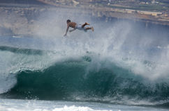 3 Las Palmas冲浪者 库存照片