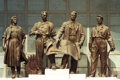 3 le baroque URSS Images libres de droits