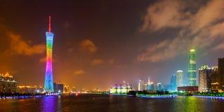 3 linia horyzontu Guangzhou zdjęcia royalty free