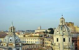 3 linia horyzontu Rome Obraz Royalty Free