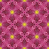 3 ljusa modellpunkter upprepar sömlöst tegelplattayellow Royaltyfria Bilder