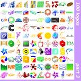 3 logotecken Vektor Illustrationer
