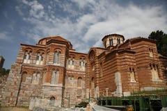 3 loukas修道院osios 免版税库存照片