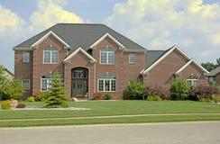 3 luksus domów Zdjęcia Royalty Free