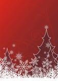 3 lyckliga jul stock illustrationer