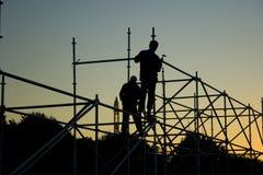 3 majstra budowlanego Obraz Royalty Free
