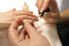 3 manicure Zdjęcia Royalty Free