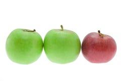 3 manzanas Foto de archivo