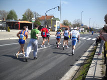 3 maraton Belgrade Zdjęcie Stock