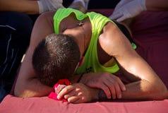 3 maraton podgorica Royaltyfria Bilder