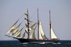 3 mast schooner  Royalty Free Stock Images