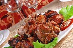 3 mięso piec Zdjęcia Stock