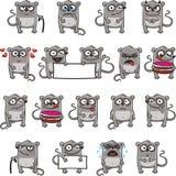 3 śmiesznej myszy Fotografia Stock