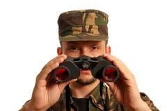 3 militarian Стоковое Изображение