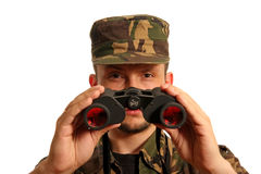 3 militarian 库存图片