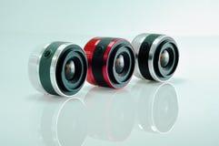 3 mirrorlwss lens Stock Photography