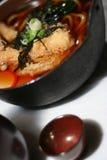 3 misek zupy udon drewna Fotografia Stock